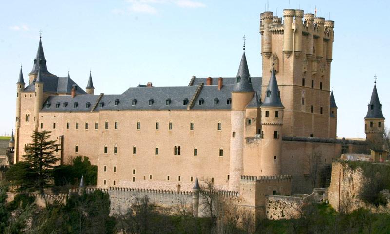 castillos españa alcazar segovia