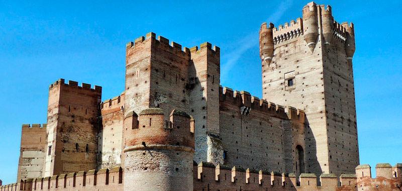 Rutas por castillos de España