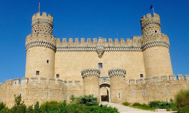 castillos españa mendoza
