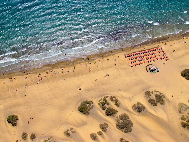 dunas playas maspalomas