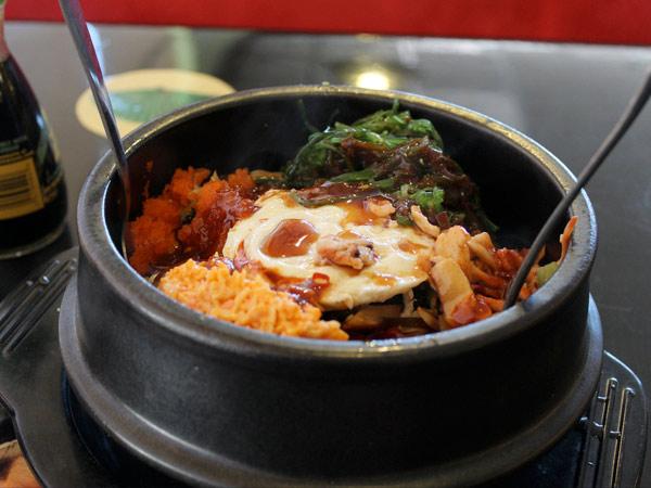 Bibimbap corea