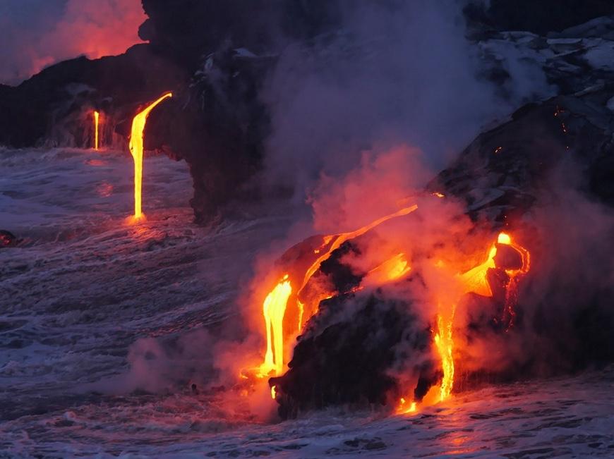 volcanes activos Kilauea