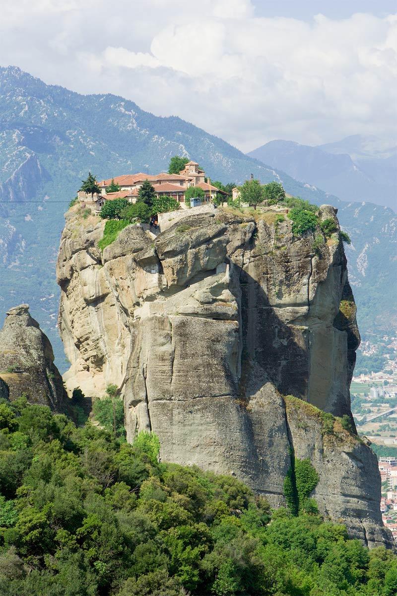 meteora monasterio san nicolas