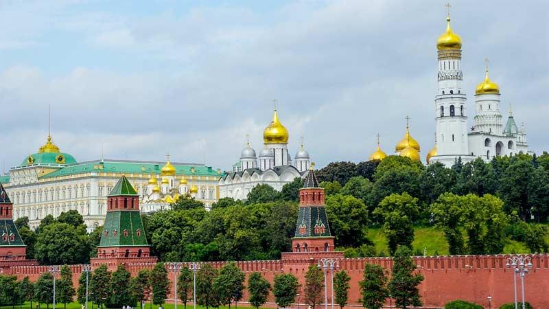 kremlin moscu rusia
