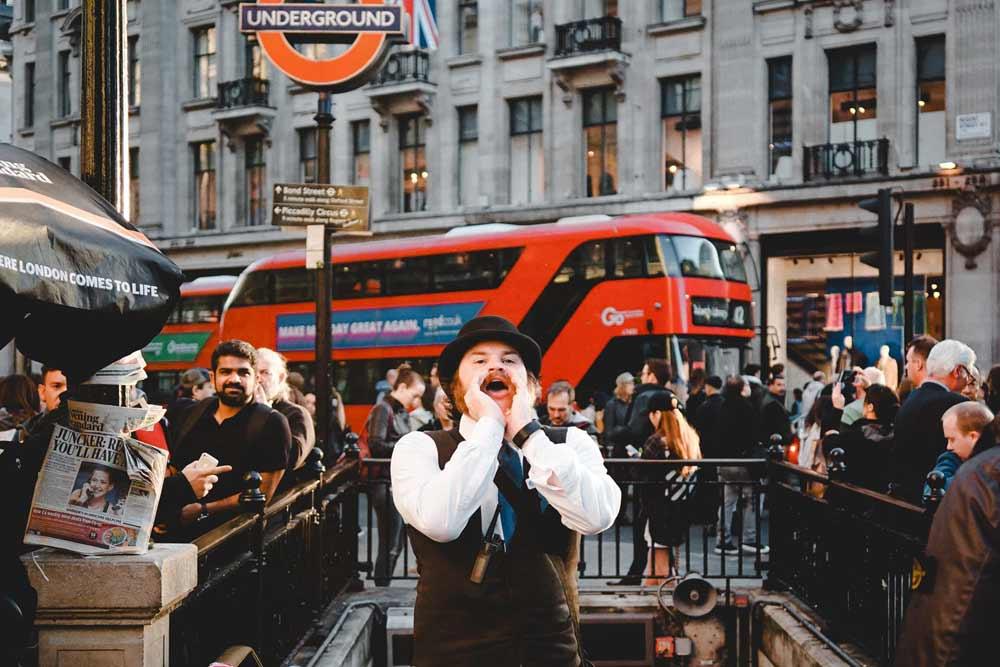 9 calles comerciales de Londres para adictos a la fotografía