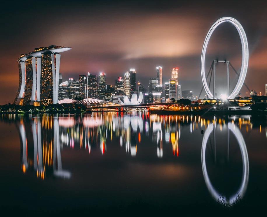 ver a Marina Bay Sands para creerlo y no es difícil verlo en Singapur