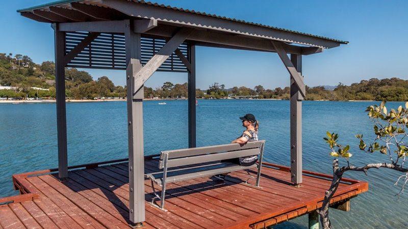 Paseo marítimo de Gold Coast - Reserva Beree Badalla en Australia