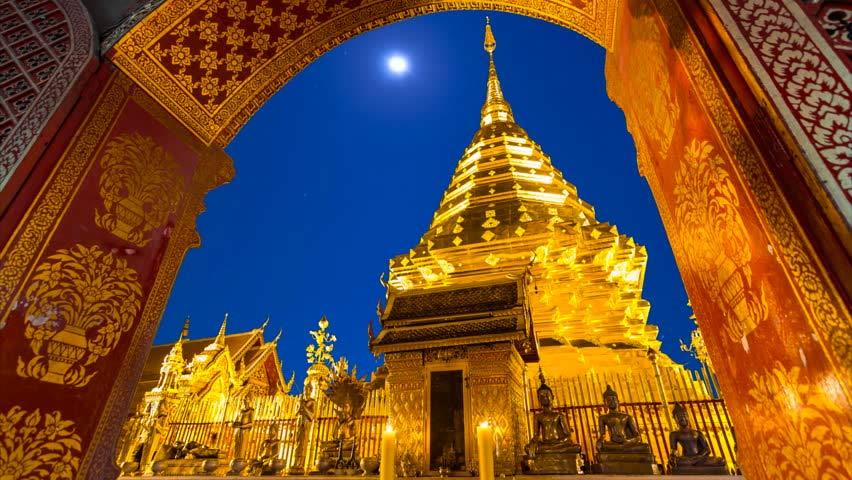 Visita el templo de Wat Phra That Doi Suthep