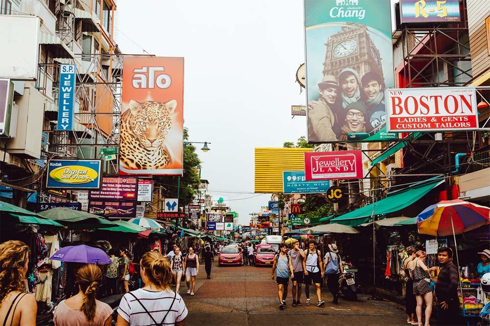 Bangkok con bajo presupuesto – Khao San