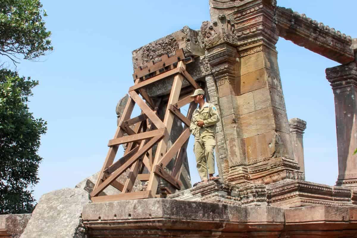 Templo de Preah Vihear, Camboya – Sitio arqueológico y frontera en disputa