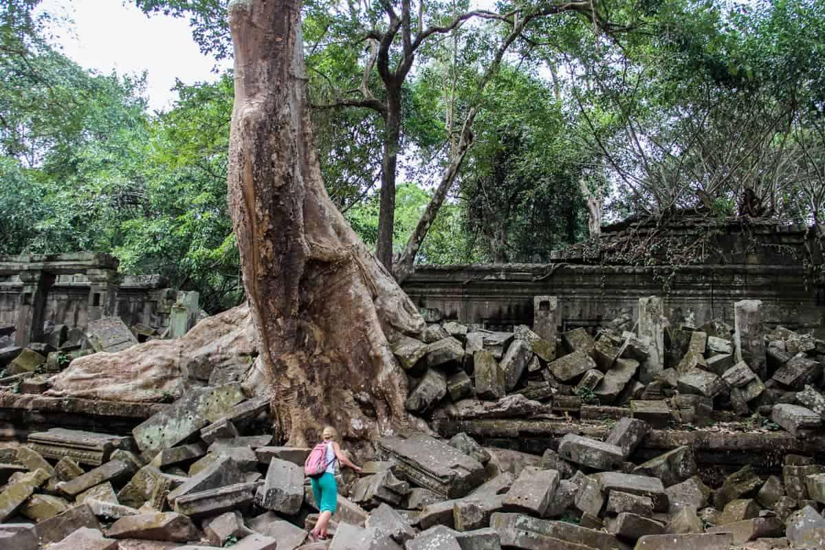 Templo de Beng Mealea en Camboya