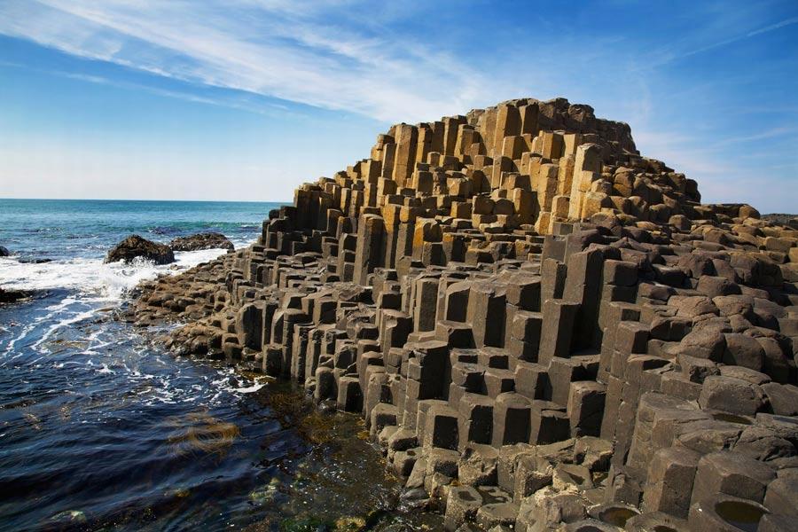 Hace casi 60 millones de años, se formó la Calzada de los Gigantes