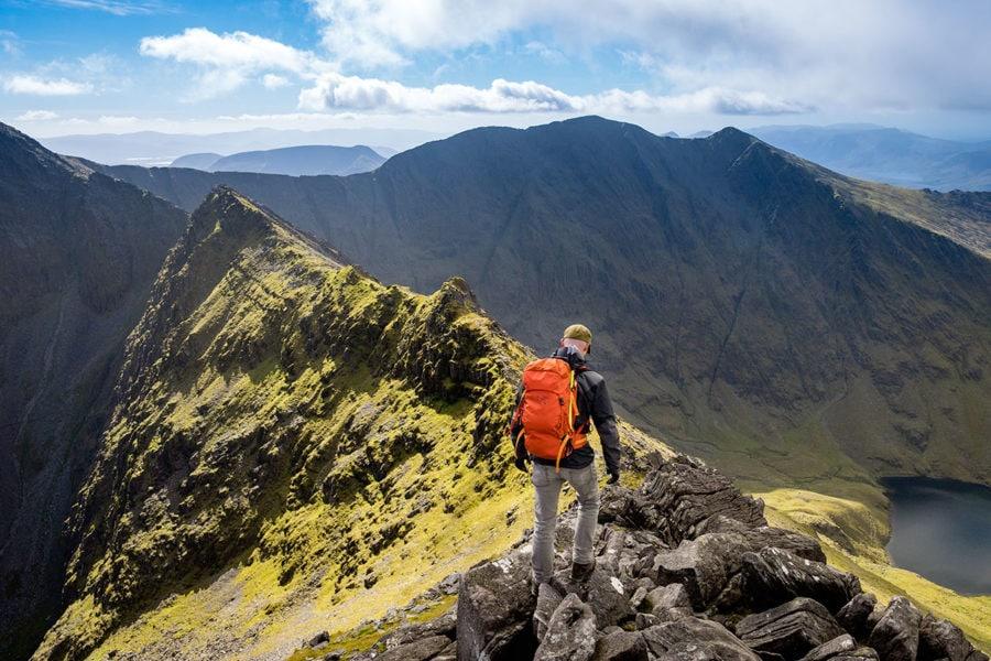 Carrauntoohil, la montaña más alta de Irlanda