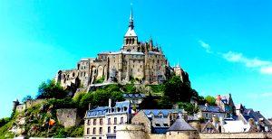 Normandia badía de Mont Saint-Michel