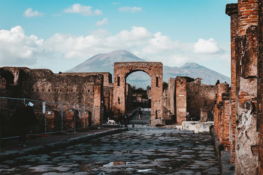 Visita Pompeya y el Vesubio