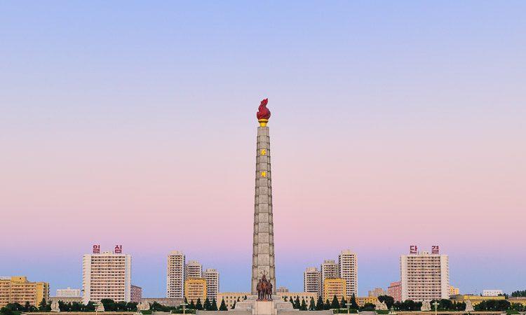Pyongyang, capital de la República Popular Democrática de Corea