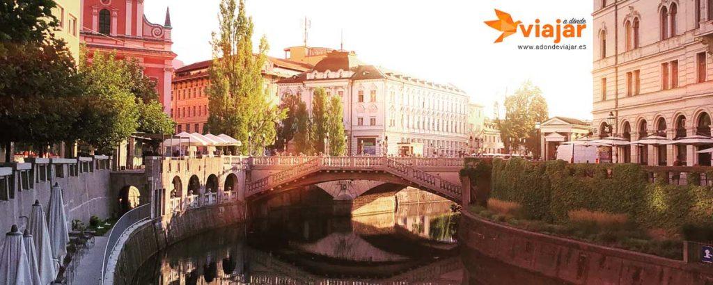 Donde los lugareños van en Ljubljana