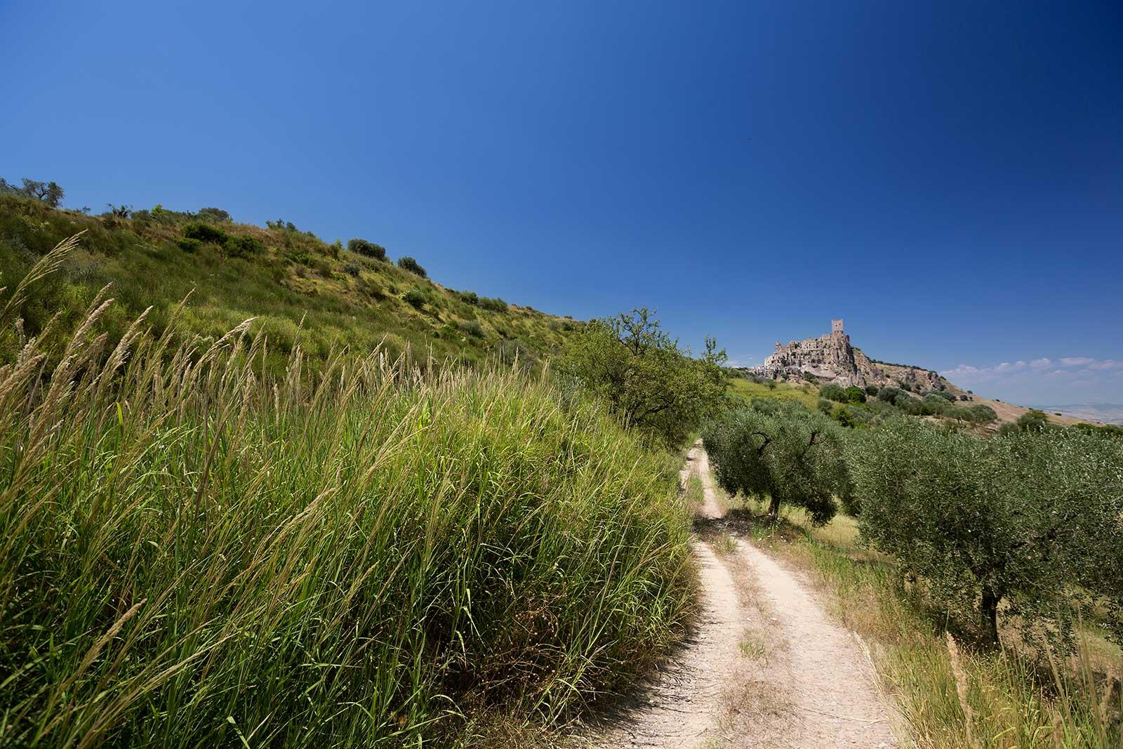 Craco: un pueblo fantasma en el sur de Italia.
