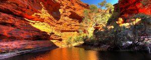 Palm Valley y Kings Canyon en el Territorio del Norte de Australia