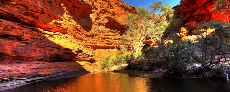 Palm Valley y Kings Canyon en el Territorio del Norte de Australia