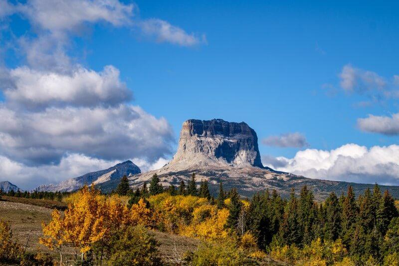 Visitando Montana en el otoño