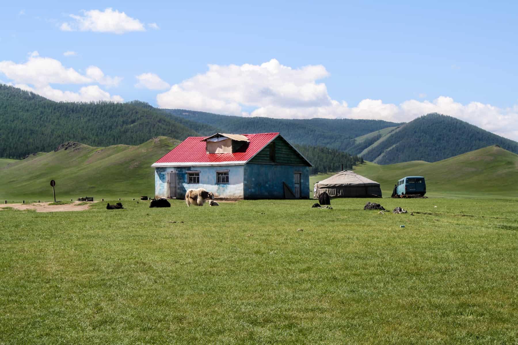Así es como viajar a Mongolia