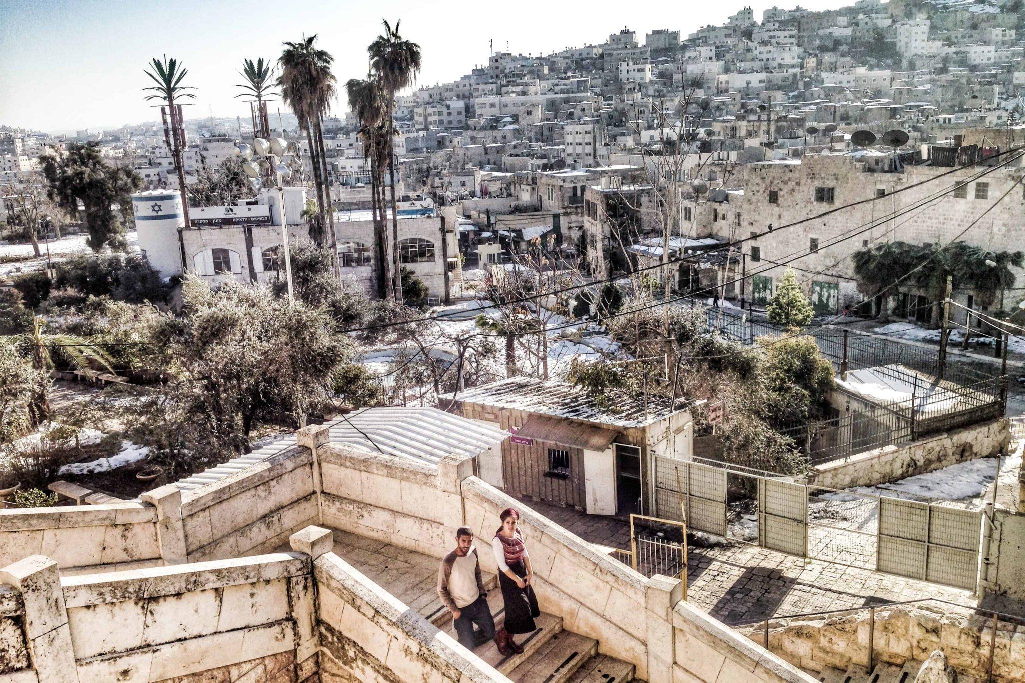 Visitando Hebrón en Cisjordania