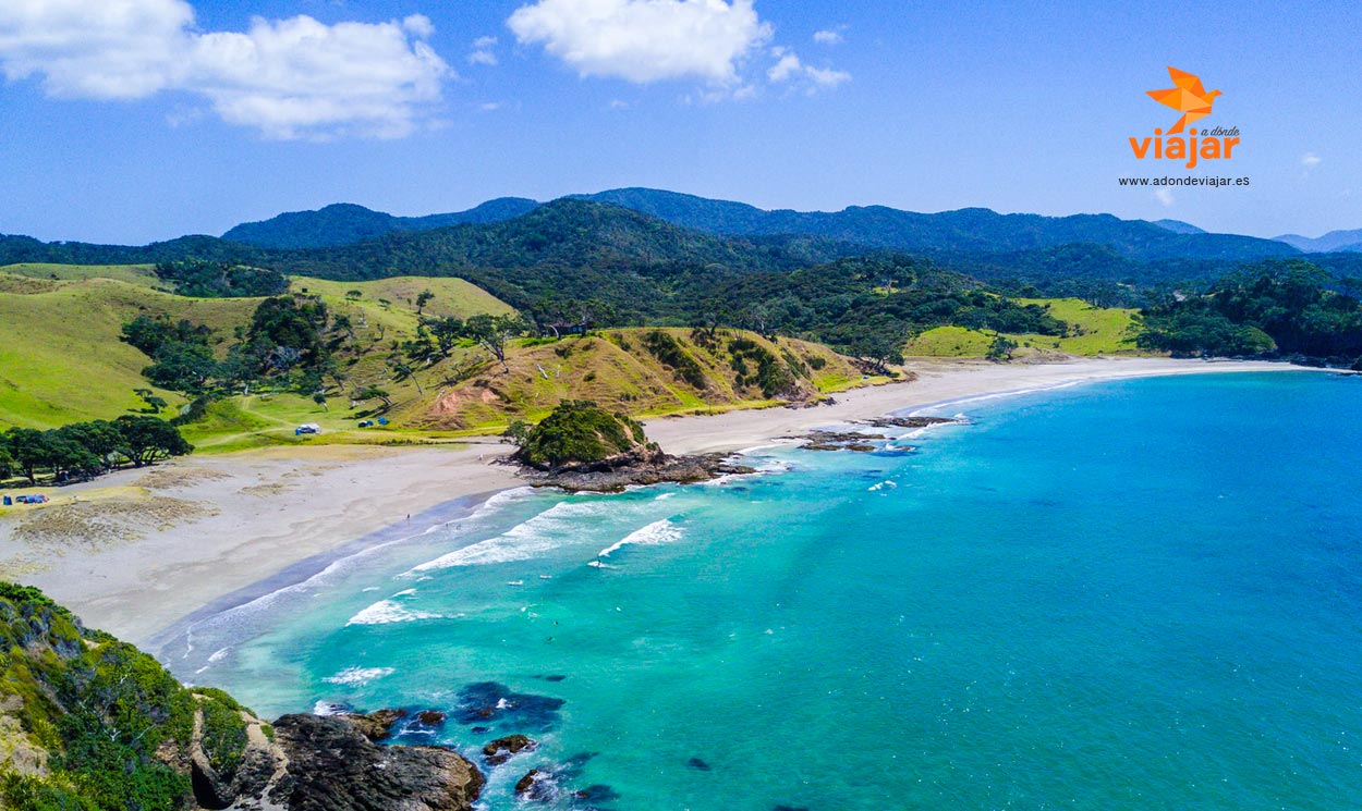 ¿Qué es lo que hace que el paisaje de Nueva Zelanda sea tan impresionante?