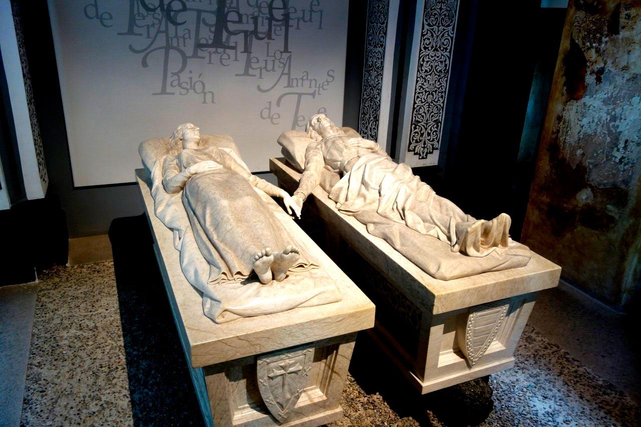 los amantes de teruel mausoleo