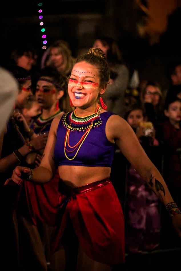 el Carnaval de Sitges marca el comienzo de la Cuaresma