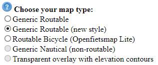 Mapas gratis para un GPS