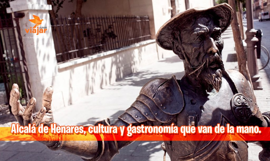 Alcalá de Henares, cultura y gastronomía que van de la mano