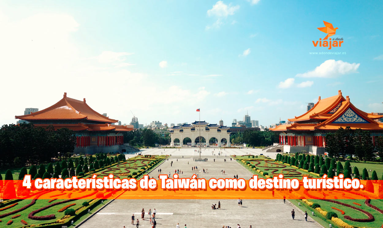 4 características de Taiwán como destino turístico