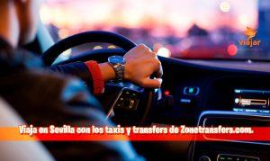 Viaja en Sevilla con los taxis y transfers de Zonetransfers.com