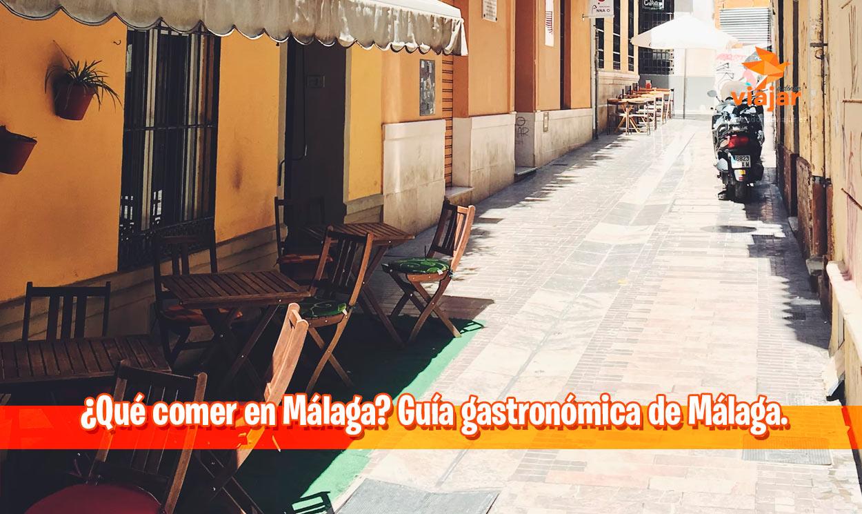 ¿Qué comer en Málaga? Guía gastronómica de Málaga
