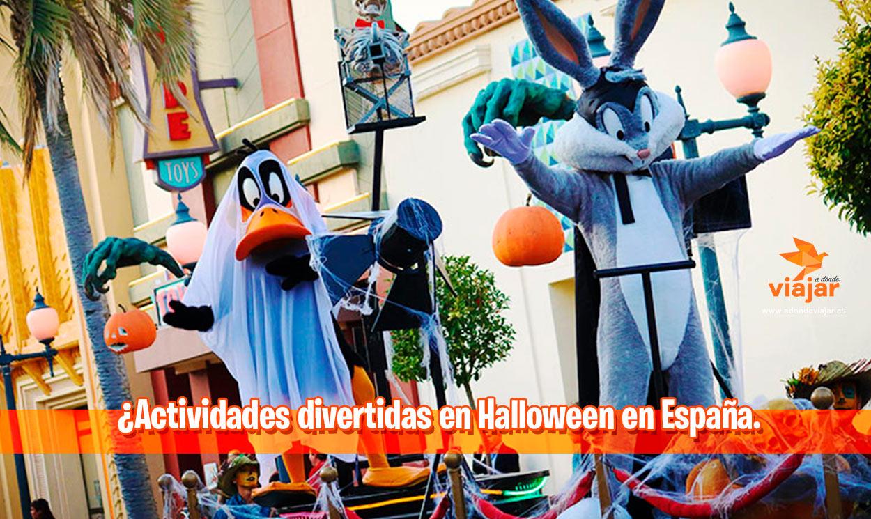 Actividades divertidas en Halloween en España