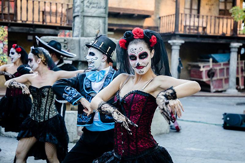 Parque atracciones Halloween en España