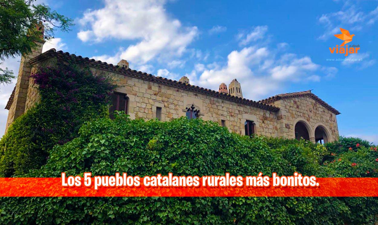 Los 5 pueblos catalanes rurales más bonitos